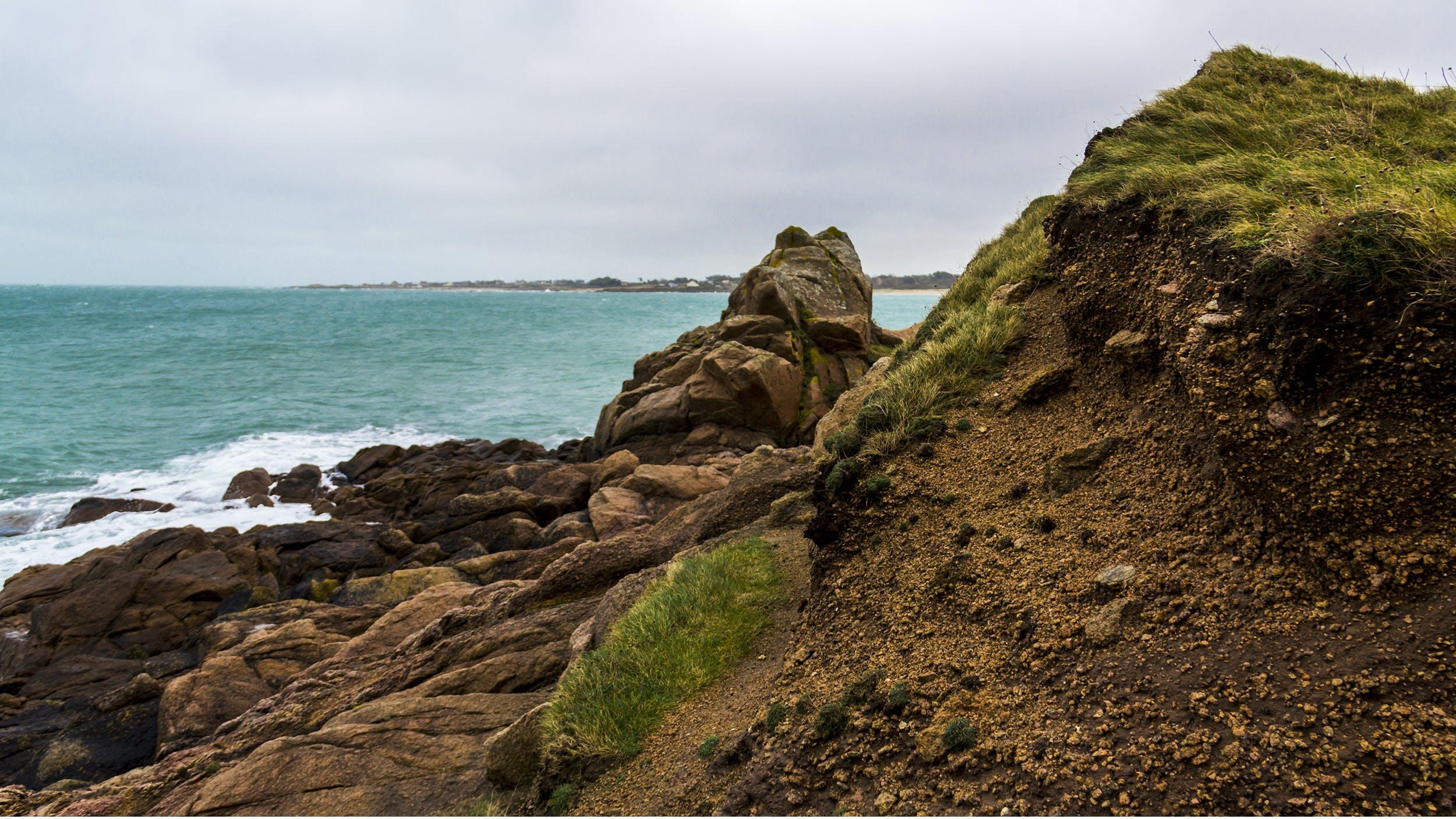Δωρεάν στοκ φωτογραφιών με rock, άμμος, βραχώδης, βρύο