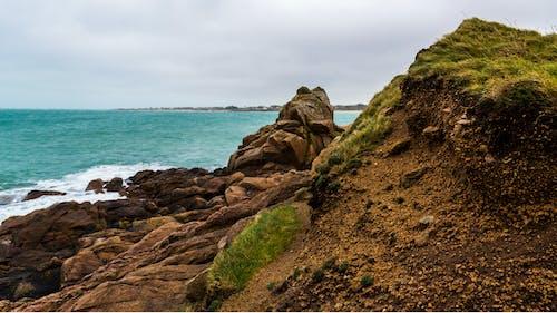 Gratis stockfoto met daglicht, golven, gras, h2o