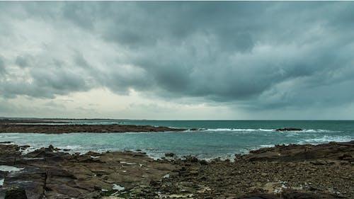 Gratis stockfoto met mer, nuages, wolken, zee