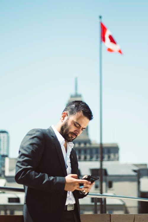 Foto profissional grátis de ativo, Canadá, desgaste, empresário
