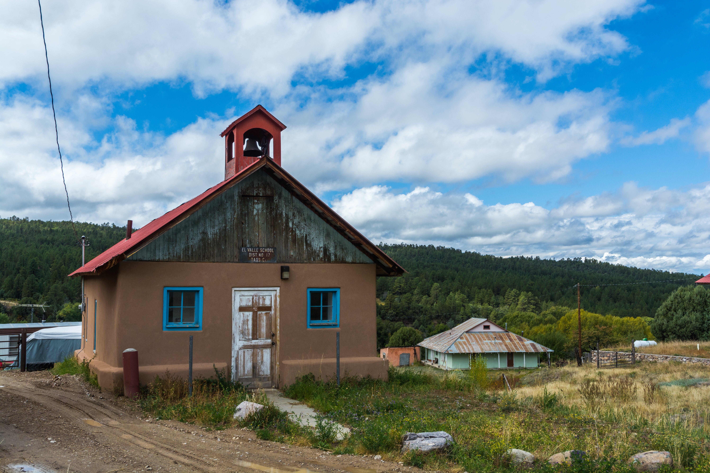 Free stock photo of church, landscape, New Mexico, southwest