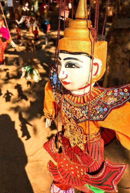 Free stock photo of bagan, burma, doll