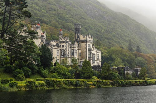 城堡, 家, 山 的 免费素材图片