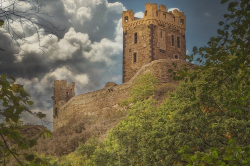Free stock photo of clouds, historical, mystical
