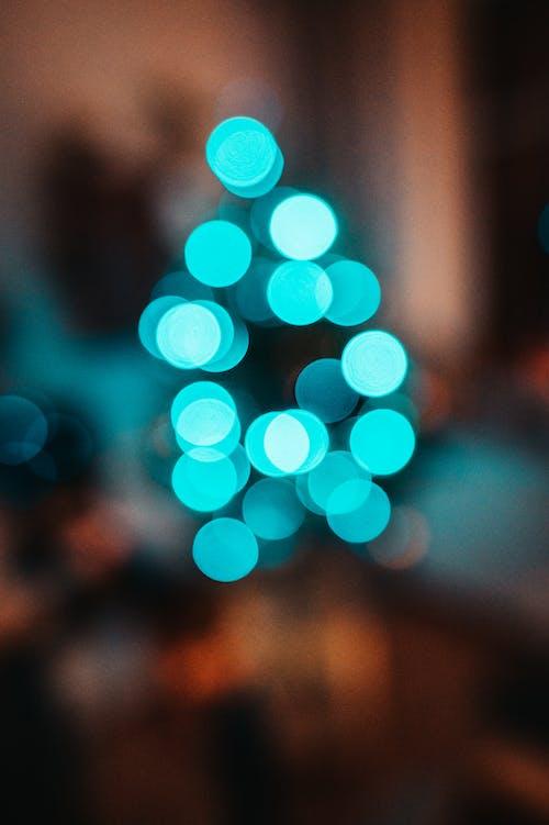 Free stock photo of bokeh, christmas, christmas tree