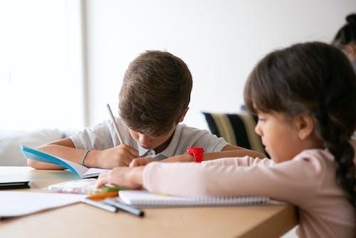 Children Doing their Homework