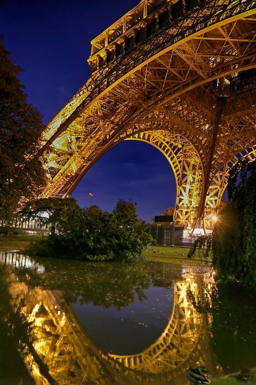 塔, 巴黎, 法國, 艾菲爾鐵塔 的 免费素材照片