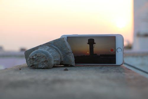 Free stock photo of iphone, iphone 6 plus, shoot, sunset