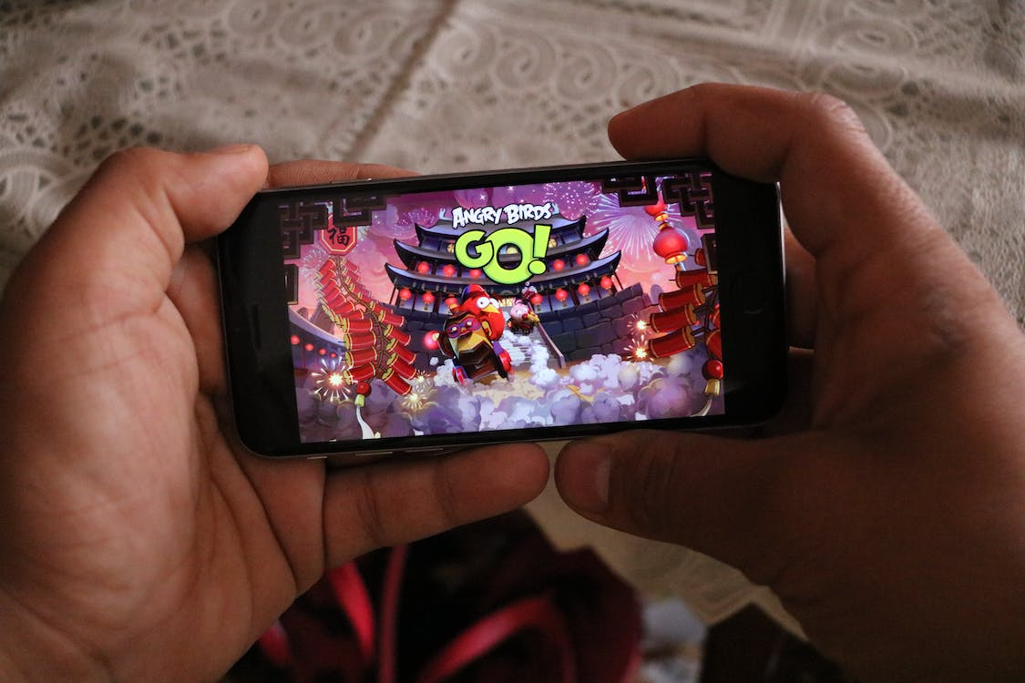 Angrybirds, game, iphone