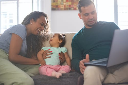 Ingyenes stockfotó afro-amerikai nő, anya, apa témában