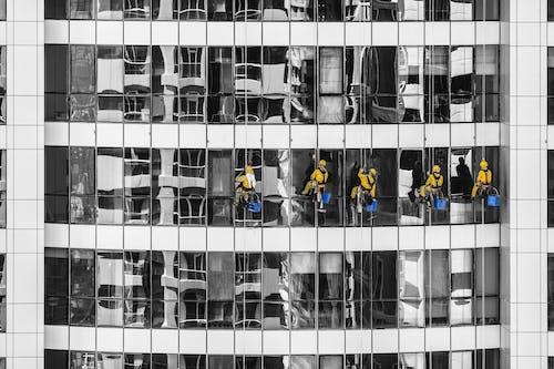 Fotos de stock gratuitas de arquitectura, ciudad, Color selectivo, cuadrado