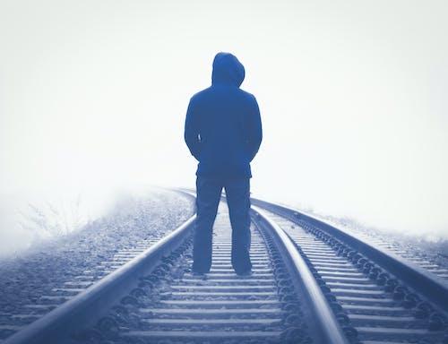 Free stock photo of alone boy, alone road, boy alone