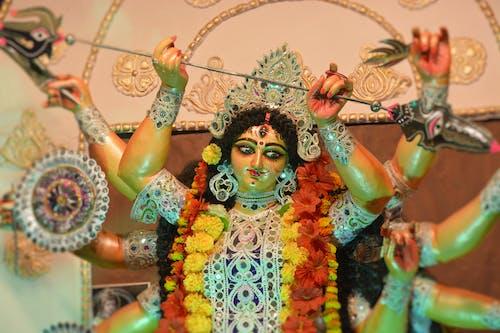 Free stock photo of goddess durga, maa durga
