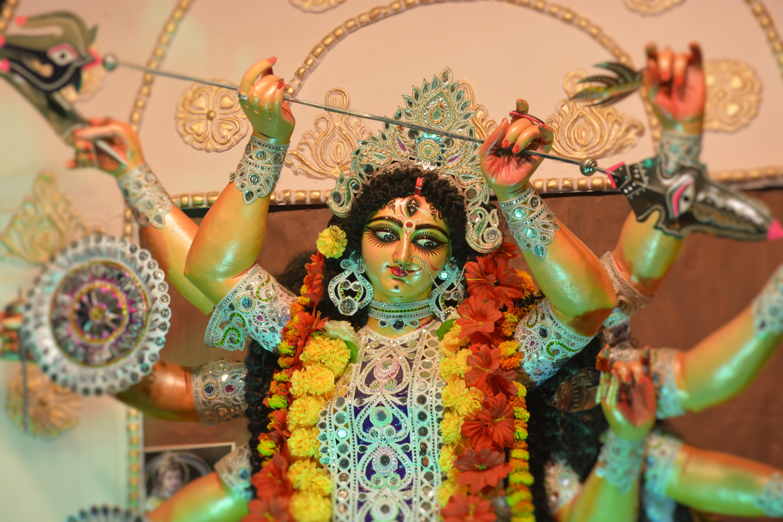 free stock photo of goddess durga maa durga