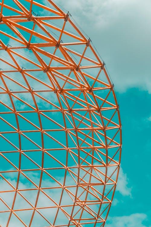 Безкоштовне стокове фото на тему «абстрактний, апельсин, архітектура»