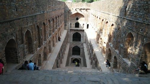 Free stock photo of agersain ke baoli, delhi, monument