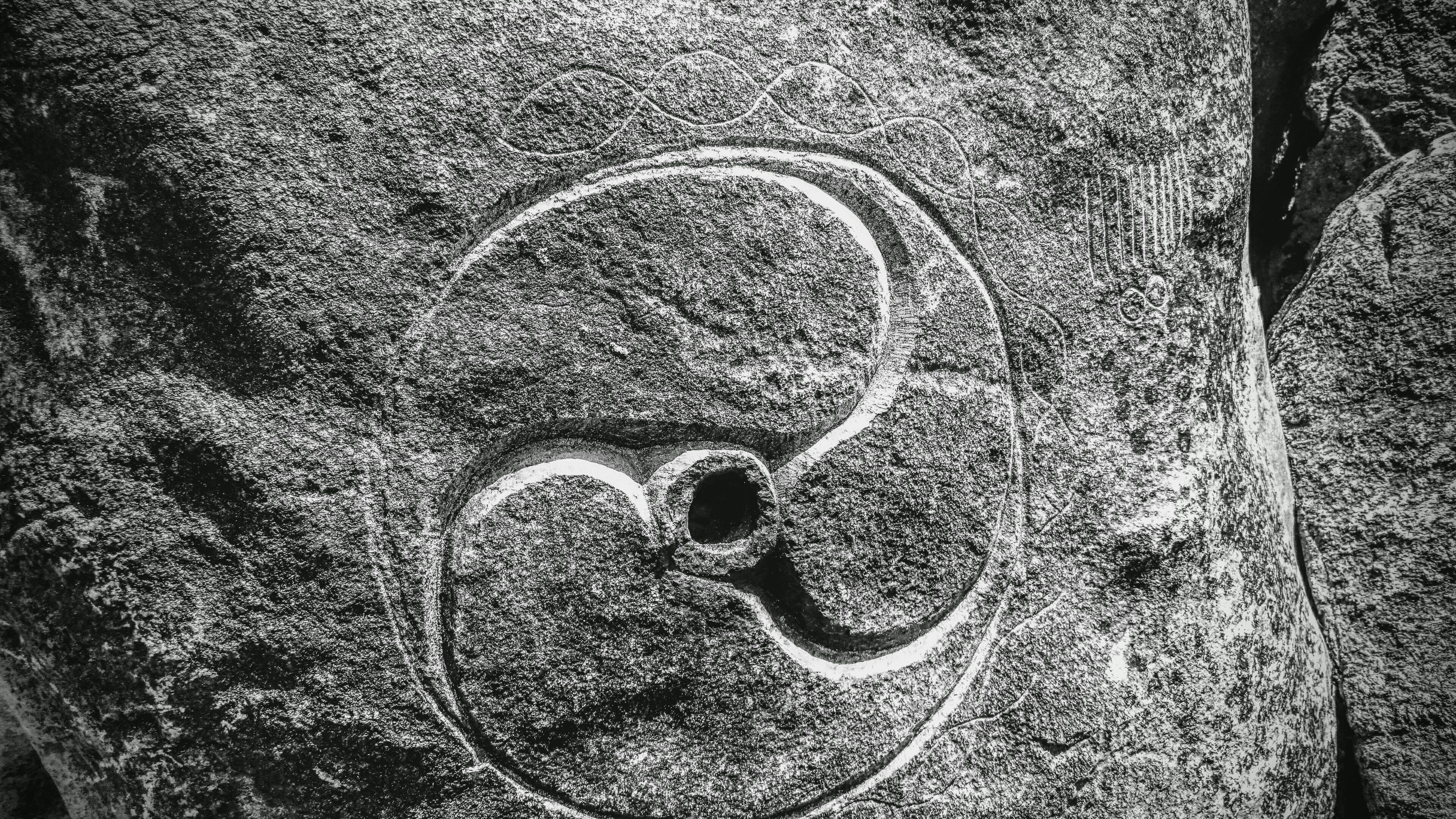 Free stock photo of rock, tribal