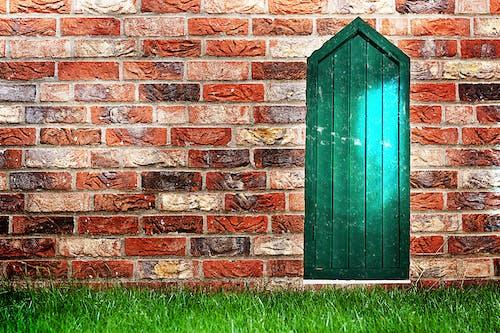 Free stock photo of background image, red bricks