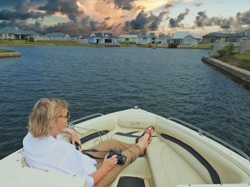 Gratis lagerfoto af afslappende, båd, ferie, fornøjelse