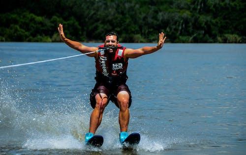 Gratis lagerfoto af ekstremsport, i form, risikabel, skiløb