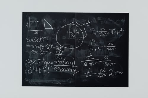 Free stock photo of algebra, chalk, chalk out