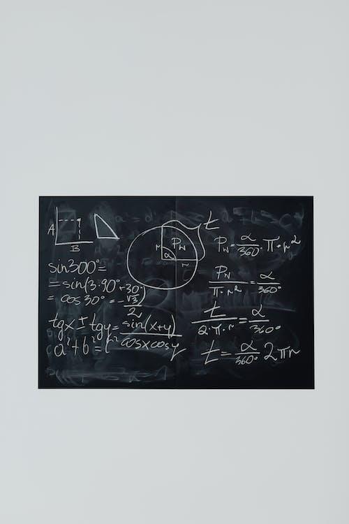 Black and White Chalk Board