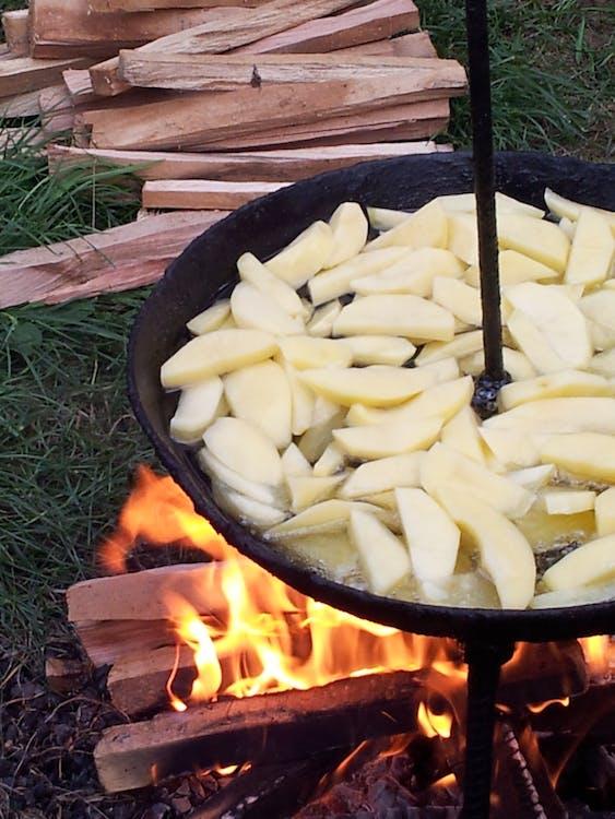 Free stock photo of potato, village