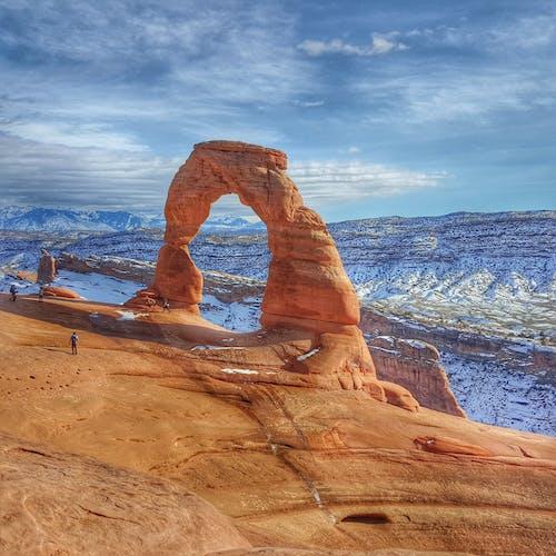 Darmowe zdjęcie z galerii z czerwony, delikatny, erozja, góra