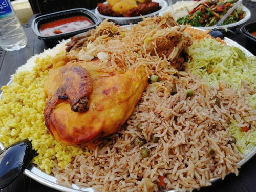 Free stock photo of baghdad, biryani, chicken