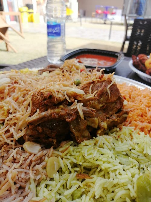 Free stock photo of baghdad, biryani, checken