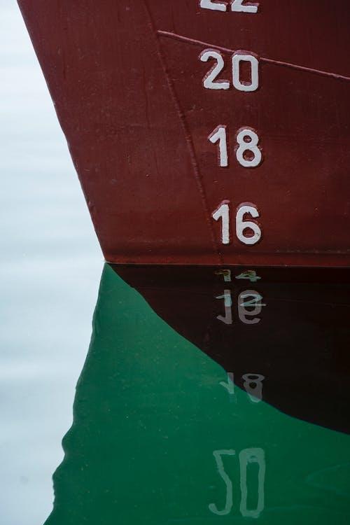 Free stock photo of água, barco, espejo