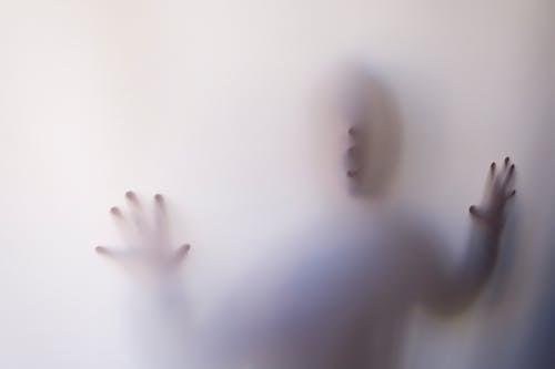 Foto d'estoc gratuïta de blanc, clareja, cortina, esgarrifós