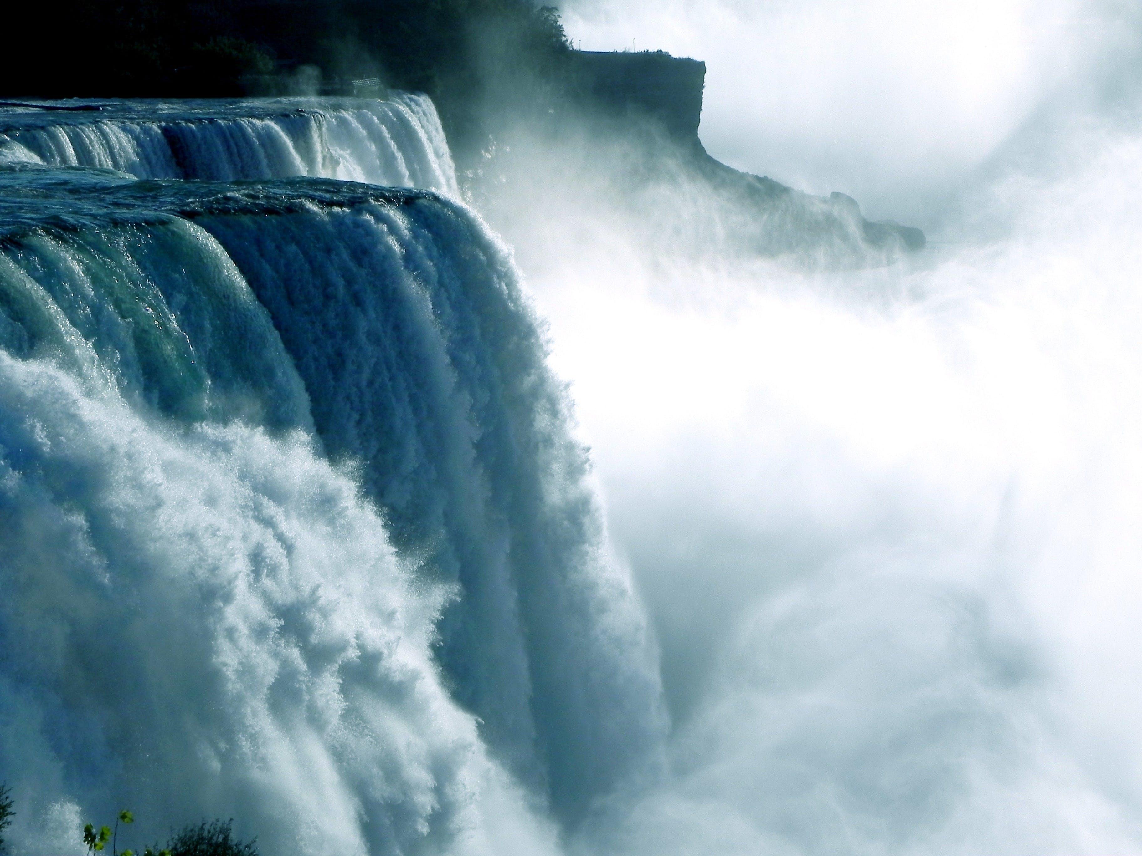 Free stock photo of nature, water, mist, waterfall
