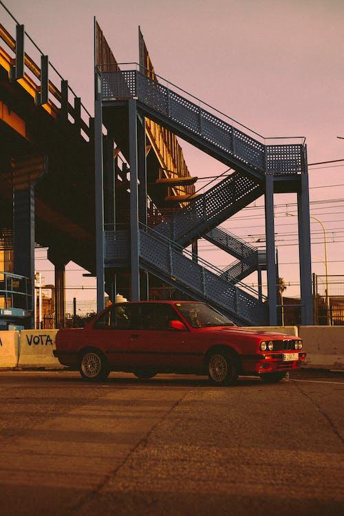 Ingyenes stockfotó 35 mm-es film, alkonyat, autó témában