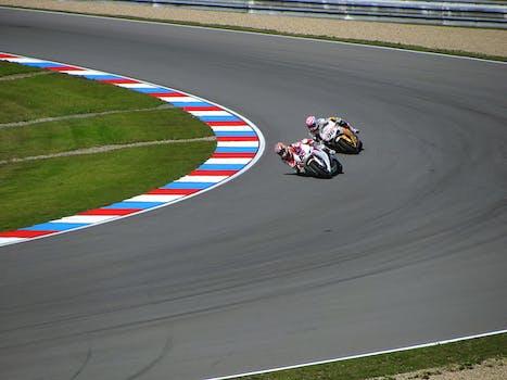 Motorcycle Racing Art