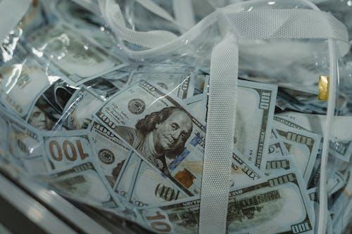 100, お金, クリアの無料の写真素材
