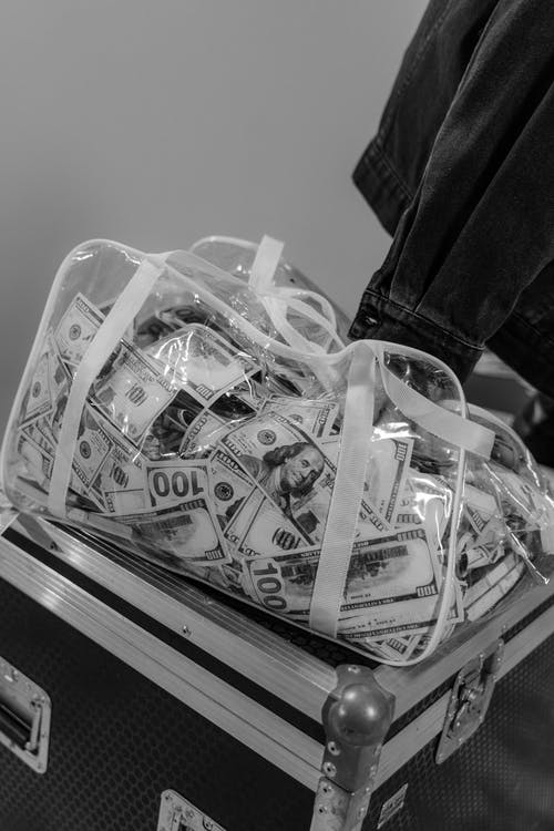 いっぱい, お金, クリアの無料の写真素材