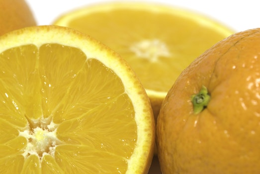 Orange Sliced Fruit