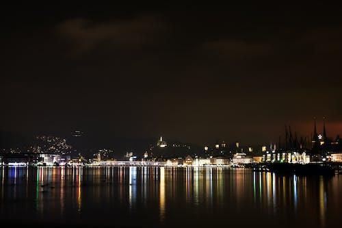 Ảnh lưu trữ miễn phí về ánh đèn thành phố, đèn ngủ, thành phố