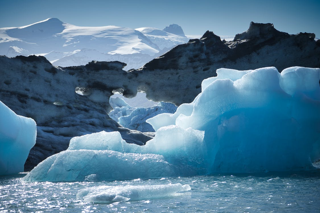 Glaciers on the Sea