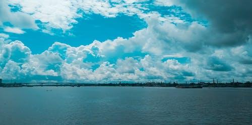 Photos gratuites de arrière-plan bleu, beau ciel, ciel bleu