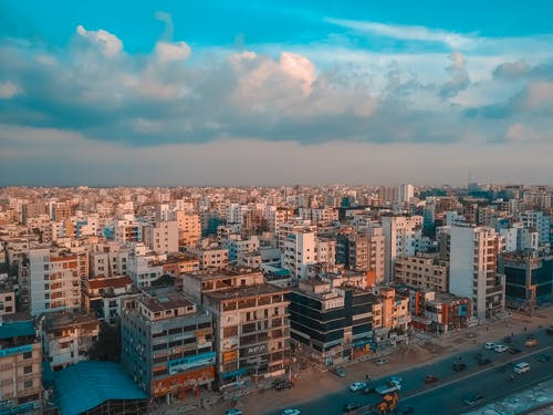 Photos gratuites de beau ciel, ciel bleu, dhaka