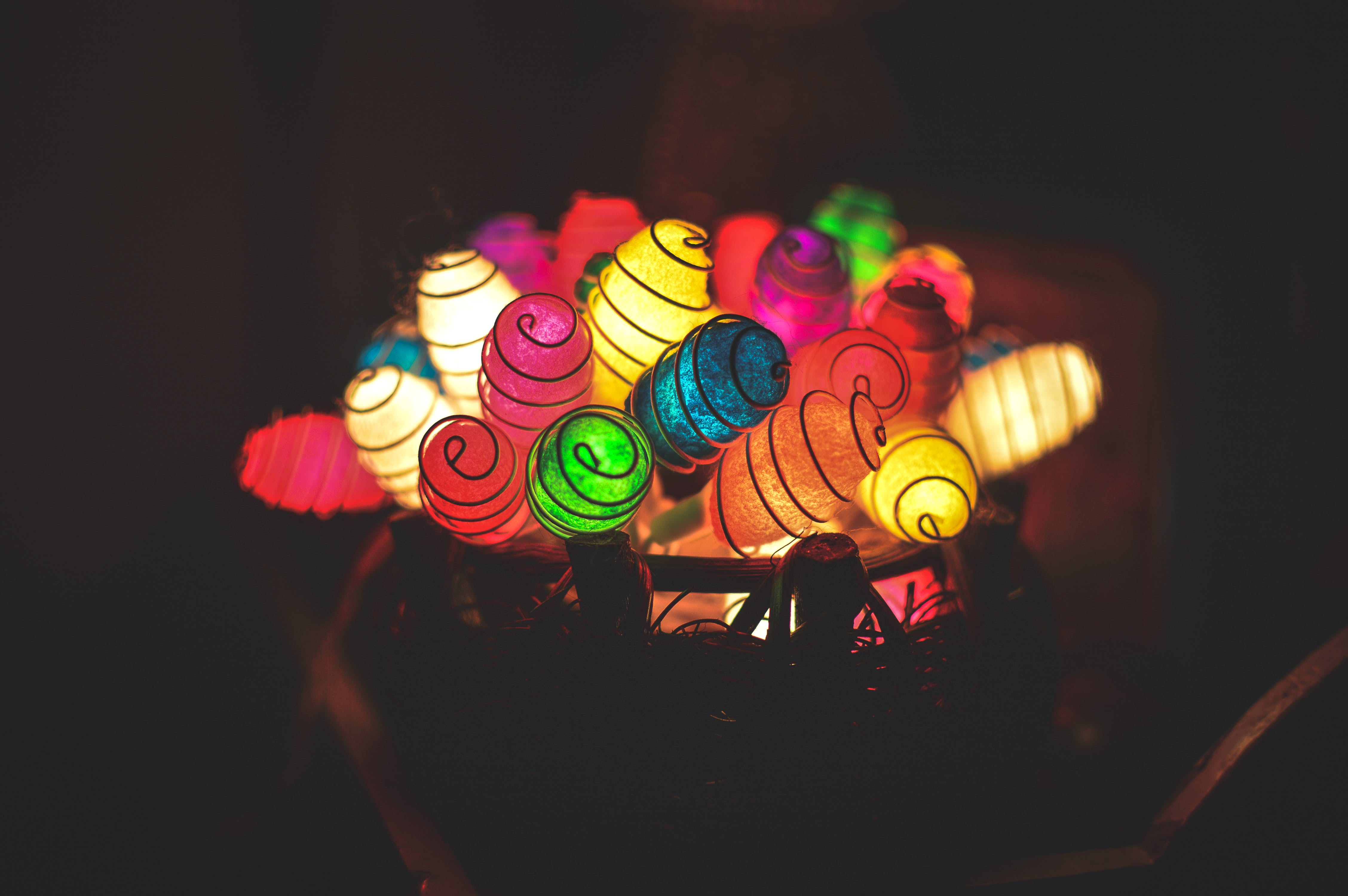 Free stock photo of beautiful, bookeh, color, colorful lights