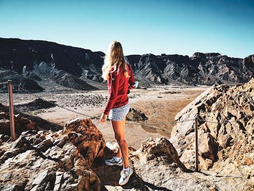 Free stock photo of adult, adventure, climb