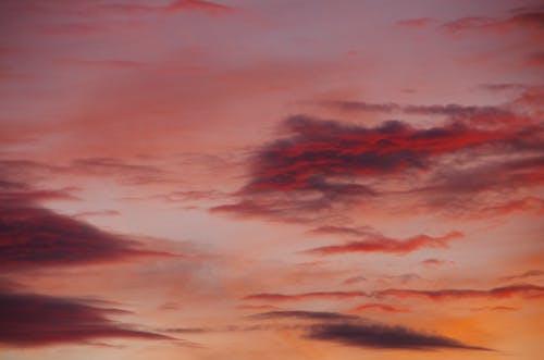 Δωρεάν στοκ φωτογραφιών με δύση του ηλίου, ηλιοβασίλεμα, ουρανός, σύννεφα
