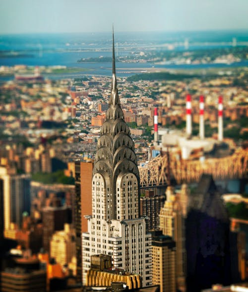 Gratis lagerfoto af by, bylandskab, chrysler bygning, New york