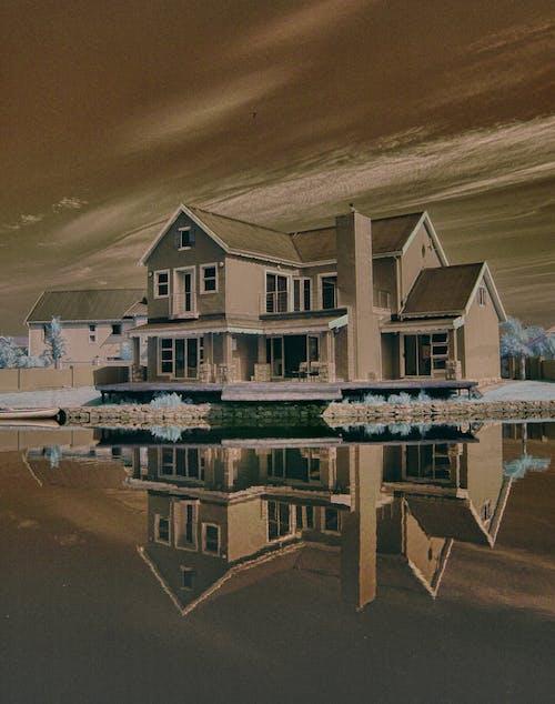 Gratis lagerfoto af bolig, vandet levende
