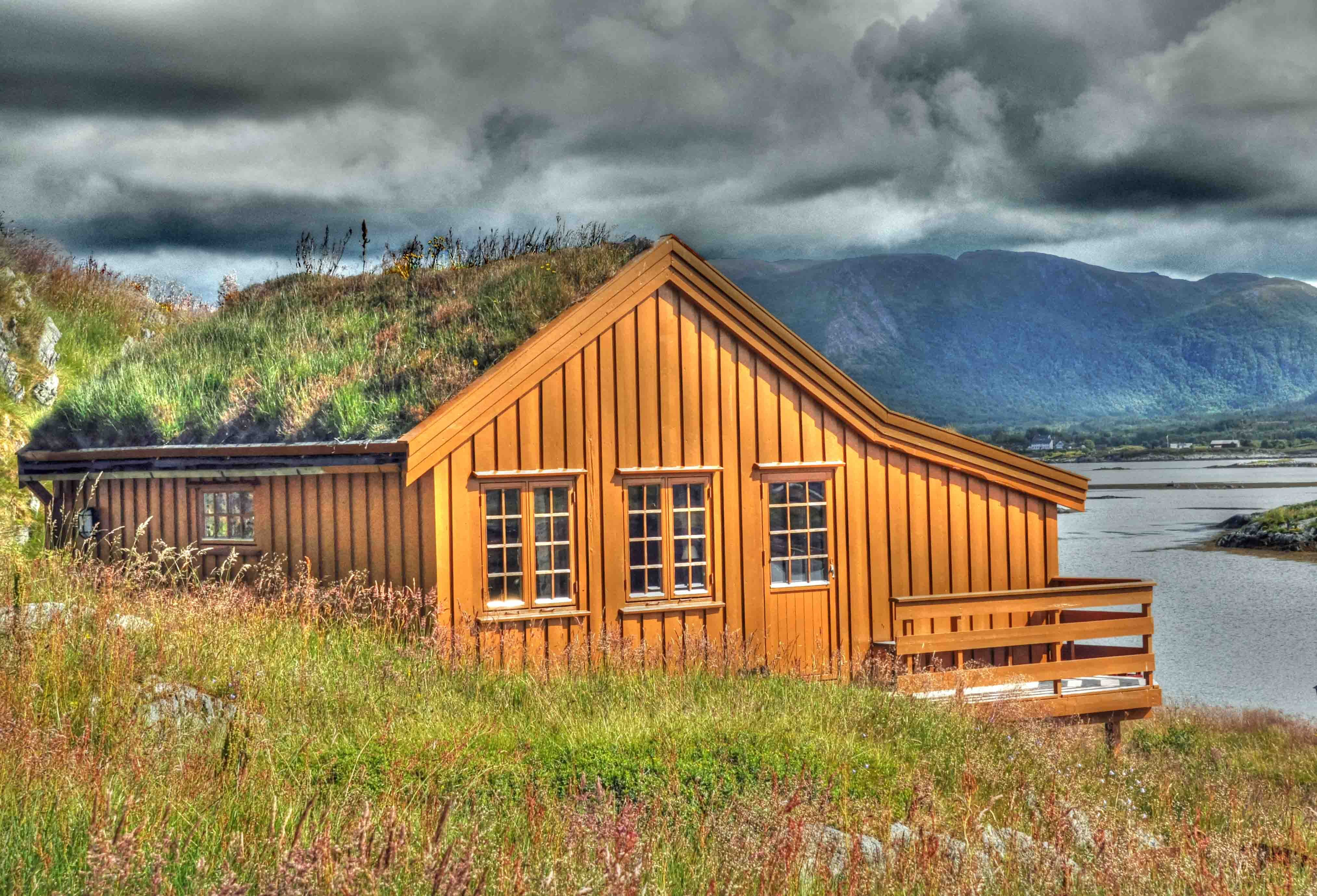 Free stock photo of dwelling, house, timber hut