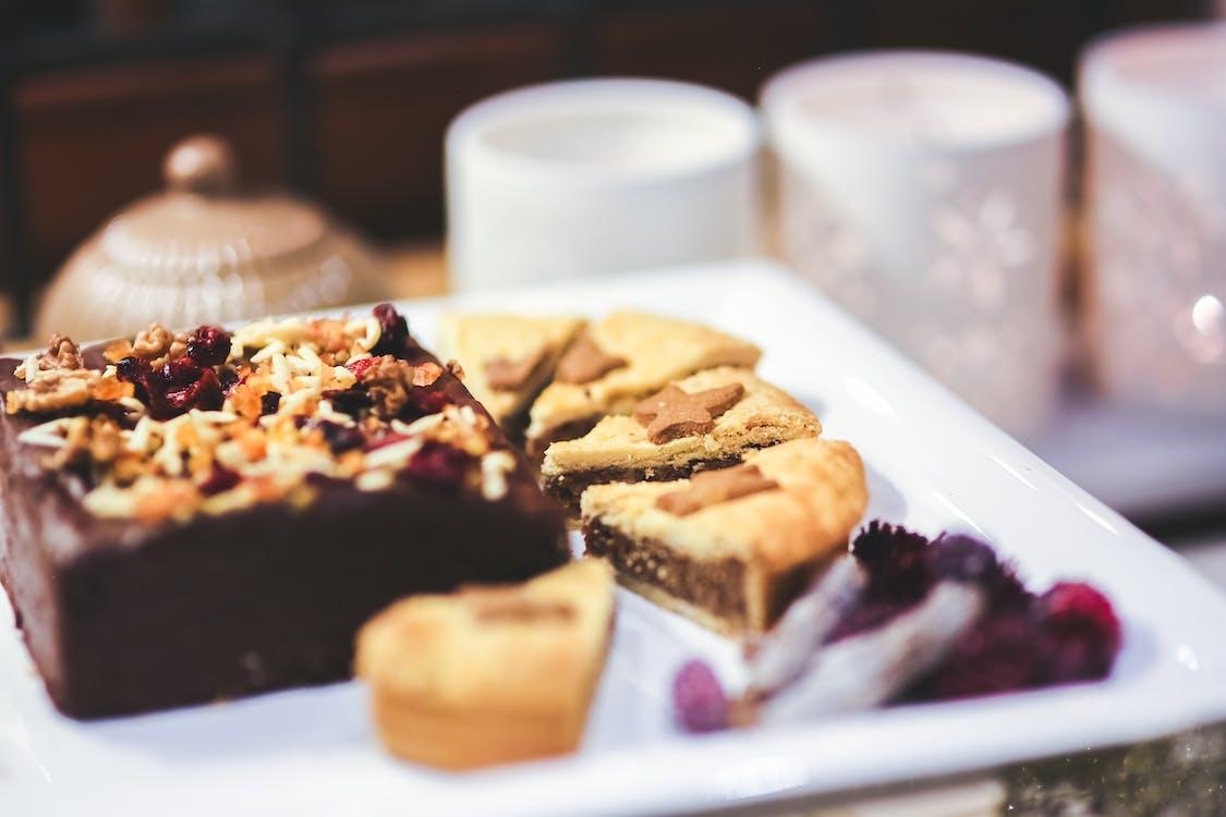 blikle, bord, brownie