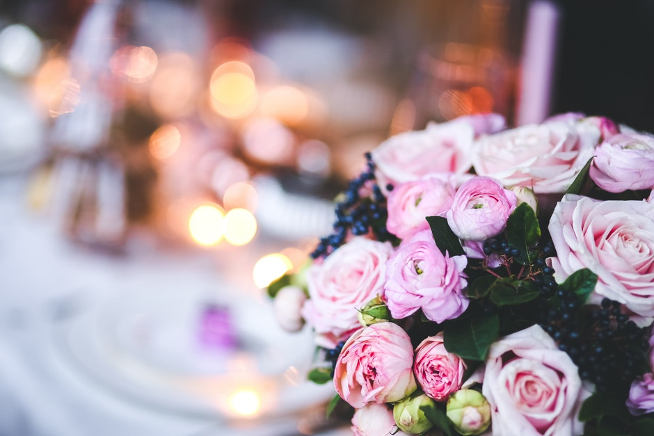 Lovely Pink Flowers with Bokeh